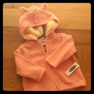 Girls 3-6M Old Navy Hooded Zip Sweater